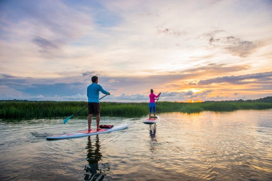 South Carolina: Paddle Board through the Charleston Water Ways