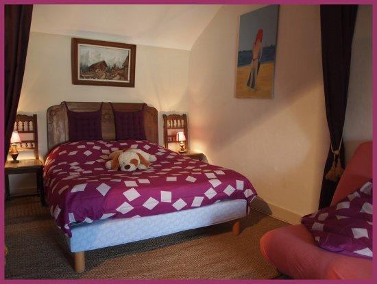 Meuvaines, Γαλλία: la chambre de notre séjour