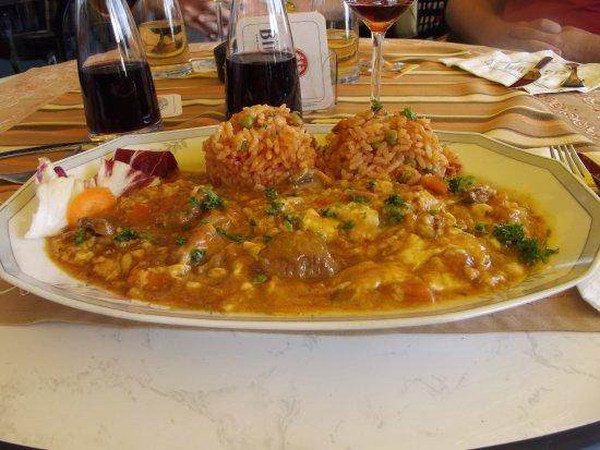 Sankt Andreasberg, Alemania: pork goulasch