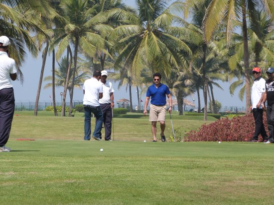 Taj Exotica Goa: view of grounds and golf course