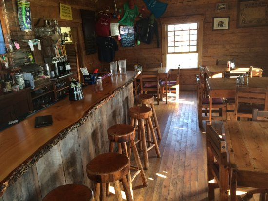 Northern Lights Saloon and Cafe: rustic interior