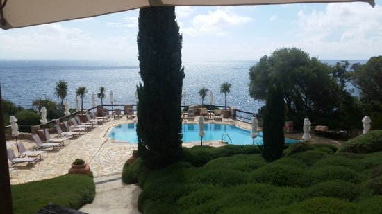 Hotel Il Pellicano: View from the lunch restaurant