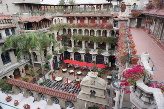 The Mission Inn Hotel and Spa: View from 4th floor patio