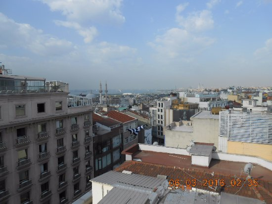 Hotel Mosaic: Vista de la terraza