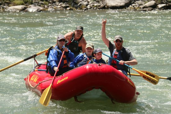 Wild West Rafting: We made it - and everyone was all smiles