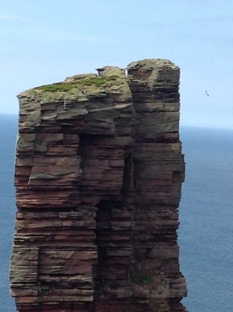 The top part of Old Man of Hoy