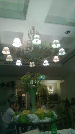 Hotel Clitunno: ristorante dell'hotel