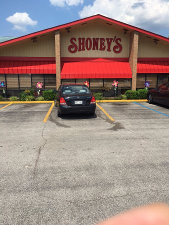 Τσάρλεστον, Δυτική Βιρτζίνια: Shoney's Charleston WV - Signage