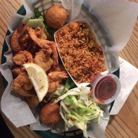 T.W. Graham & Company Seafood Restaurant: Camarão empanado muito bom!