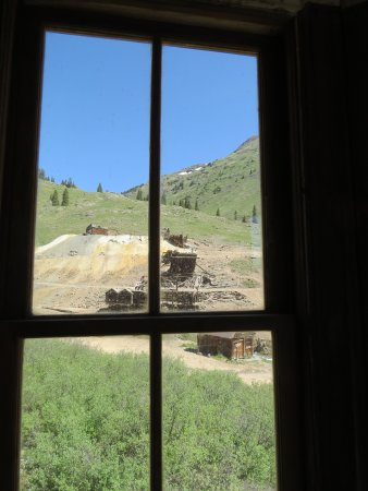 San Juan Backcountry: View from ghostown cabin
