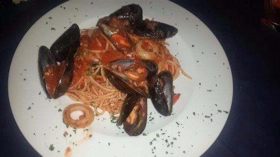 Cuvio, İtalya: Spaghetti allo scoglio