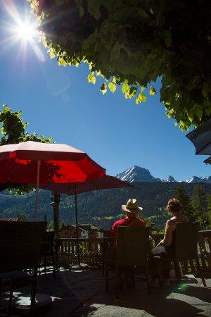 Gryon, Suiza: Parasol