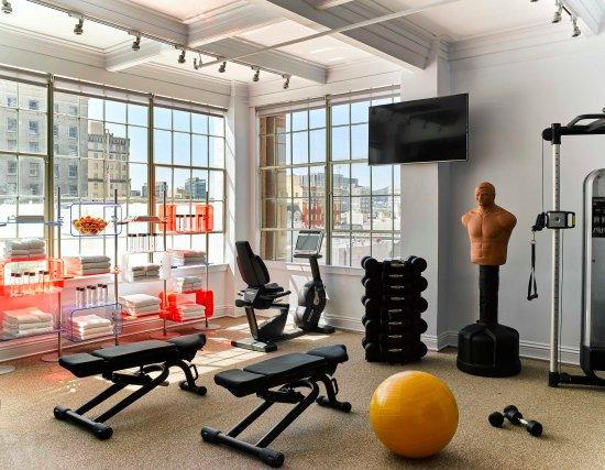 Hotel Zeppelin San Francisco Fitness Center