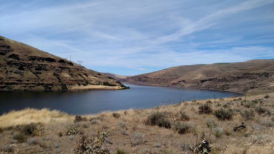 Wawawai County Park : North View of the Snake River