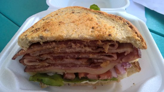 Russells Point, OH: Indian Head Ham Sandwich