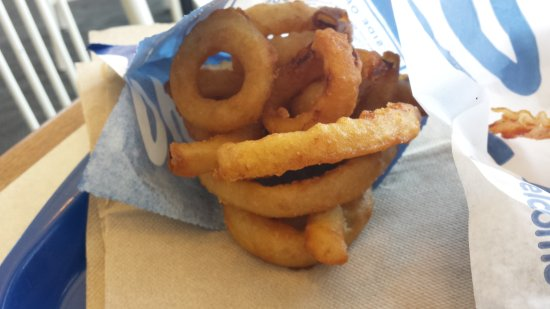 Reynoldsburg, Огайо: Fantastic Onion Rings with a tempura batter