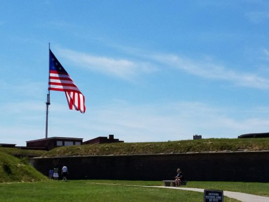 Fort McHenry National Monument: 20160619_151348_large.jpg
