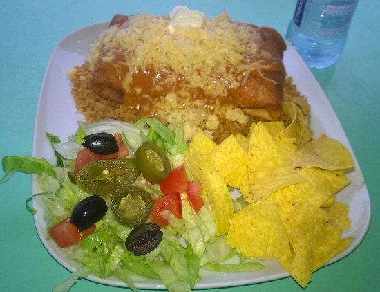 The Taco Shop : Chimichangas