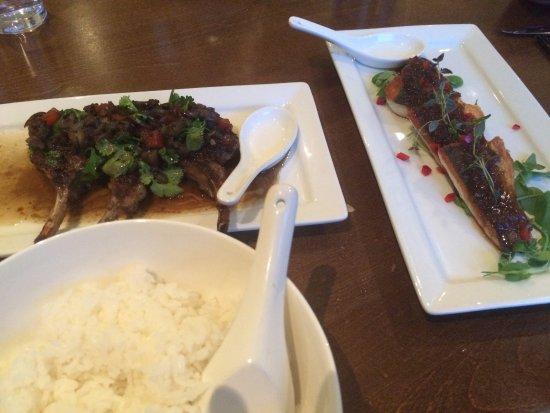 Simply Thai: Rice, Lamb and Sea Bass