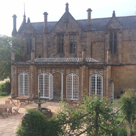 Dillington House: Side of the Main house