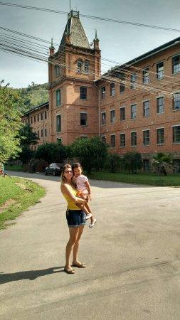 Paracambi, RJ : Antiga fabrica. Atual polo do IFRJ