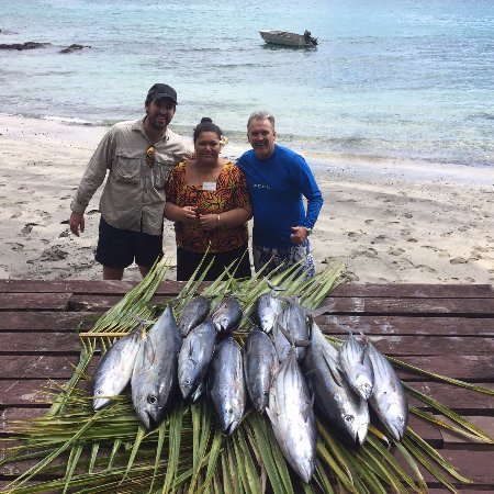 Asau, Ilhas Samoa: a mornings fishing