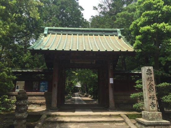 Jufukuji Temple: 寿福寺の山門