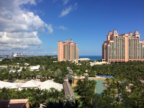 Atlantis, Royal Towers, Autograph Collection: View from Royal Towers, West tower, Harbor view, Room 9569