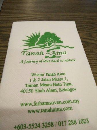 Tanah Aina Cafe Foto Tanah Aina Cafe Shah Alam Tripadvisor