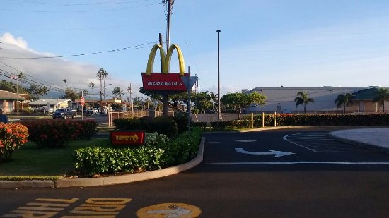 McDonald's: These are were taken in the morning before I go to work so I sneek in took it pictures are it.