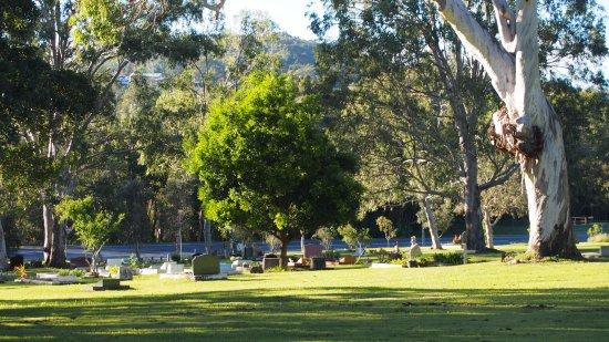 North Stradbroke Island, Australia: Dunwich Cemetery Stradbroke Island