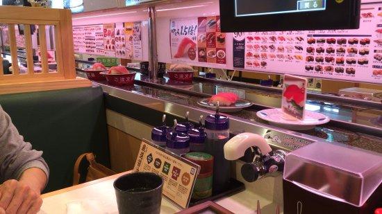 Namerikawa, Japão: テーブル席
