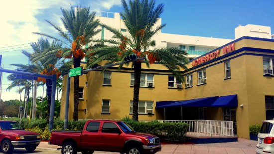 AAE Miami Beach Lombardy Hotel: Entrada do Lombardy Inn Hotel