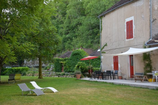 la salle manger photo de le moulin de la roche noyers sur serein tripadvisor. Black Bedroom Furniture Sets. Home Design Ideas