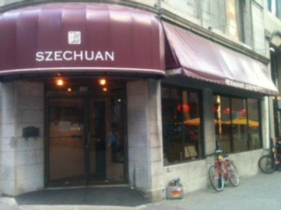Restaurant Szechuan: Entrance