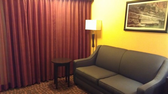 The Sofa And Front Window Picture Of Best Western Arizonian Inn