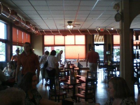 Saint Joseph, MN: The dining room.