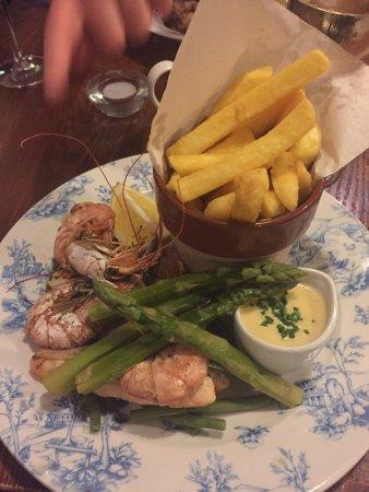 Earley, UK: Sea food medley