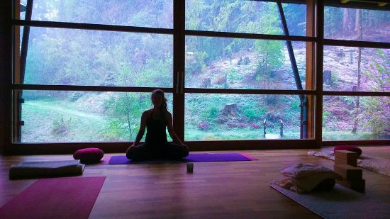 Dellach, Austria: Yoga Room