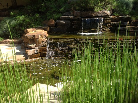 One of several garden water features. - Picture of National Cowboy ...