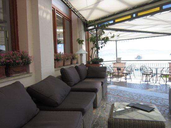salottino in terrazza - Picture of Hotel Paradiso, Porto Venere ...