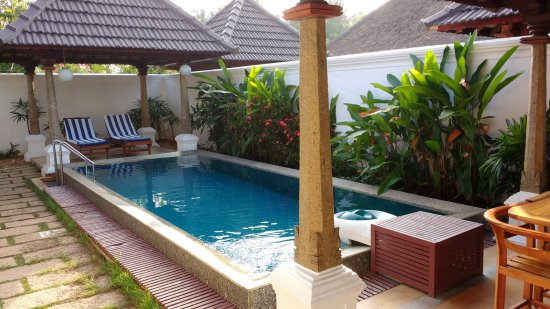 Room with private pool picture of le pondy pondicherry tripadvisor for Best hotels in pondicherry with swimming pool