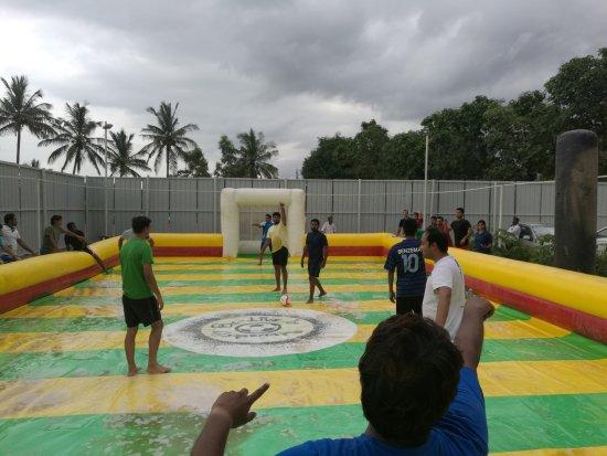 Soap Football Bangalore Be-live It