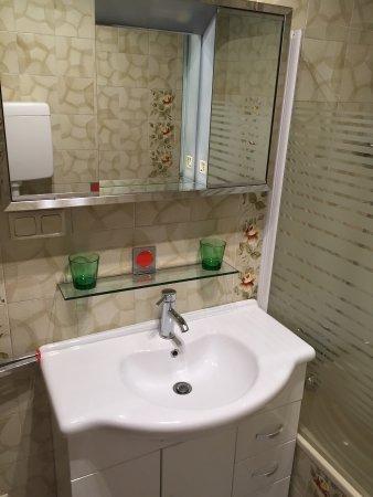 Unterburg am Klopeiner See, Austria: Our bathroom