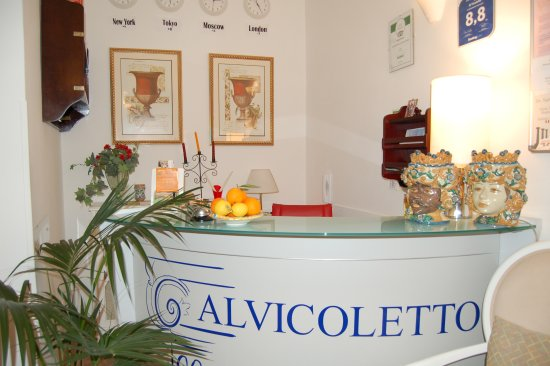 Al Vicoletto : reception