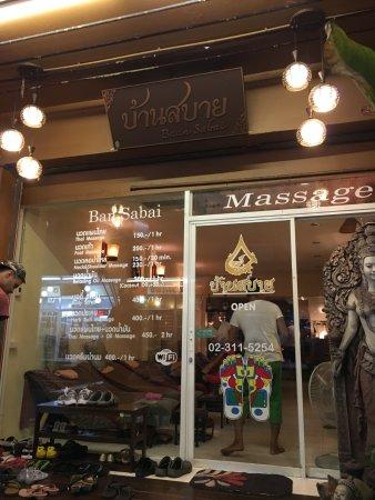 sabai thaimassage billig massage