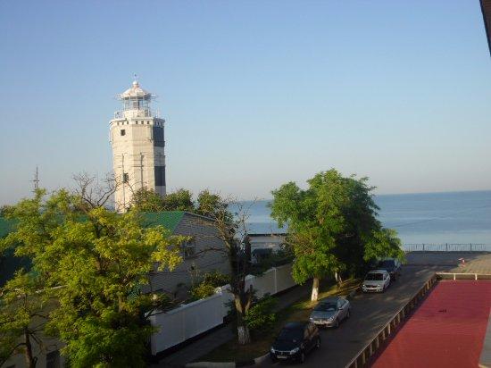 """The Lighthouse: Вид со смотровой площадки отеля """"Боспор"""""""