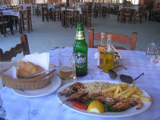 Megalos Aselinos Beach: Aselinos Beach Taverna