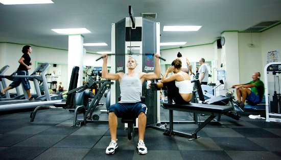 "Bougainvillea Beach Resort: ""Work it out"" Gym"