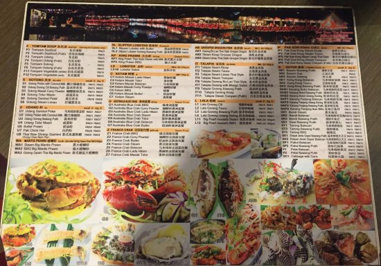 Veg Fish Farm Thai Restaurant Menu